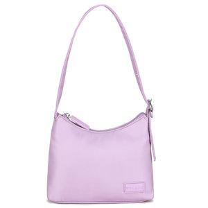 Daniel Silfen Handbag Ulla Nylon Pastel Lilac