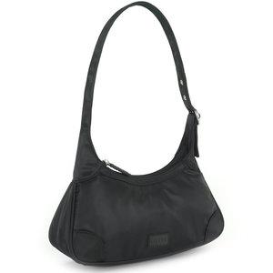 Daniel Silfen Shoulder Bag Thora Nylon Black