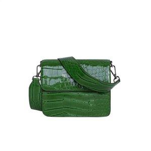Hvisk Cayman Shiny Strap Bag Grass Green Voorkant