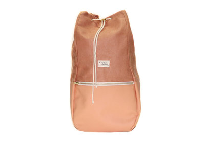 Kaliber Fashion Backpack Love & Soul Apricot Voorkant Dicht