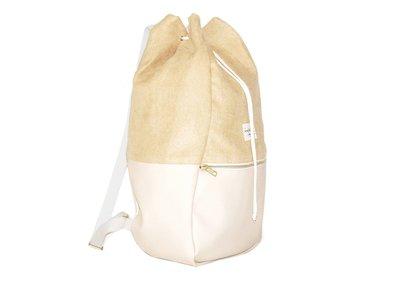Kaliber Fashion Backpack Love & Soul Vanille Voorkant