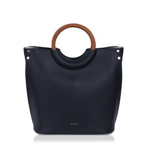 Viviana Top Handle Bag Black Voorkant