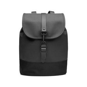 Rains Original Drawstring Backpack Black Voorkant