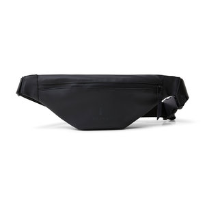 Rains Original Bum Bag Mini Black Voorkant