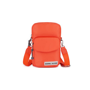 Daniel Silfen Crossbody Robyn Orange Voorkant