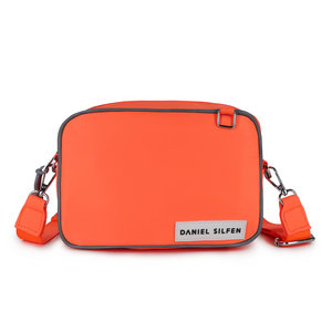 Daniel Silfen Crossbody Julie Orange Voorkant