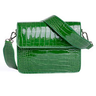 Hvisk Cayman Shiny Strap Bag grass green