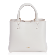 INYATI Hailey Top Handle Bag cream voorkant