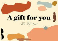 Veganbags Giftcard t.w.v. €80 voorkant