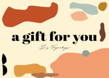 Veganbags Giftcard t.w.v. €30 voorkant